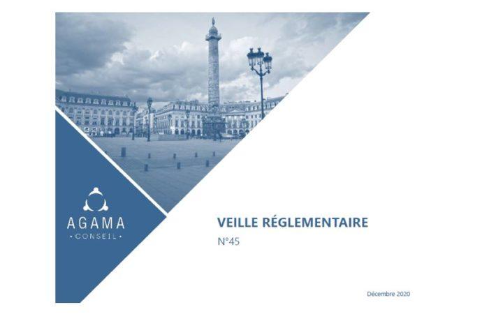 Regulatory News AGAMA N°45