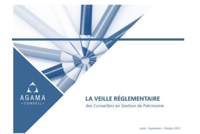 Regulatory News CGP – August to October 2019