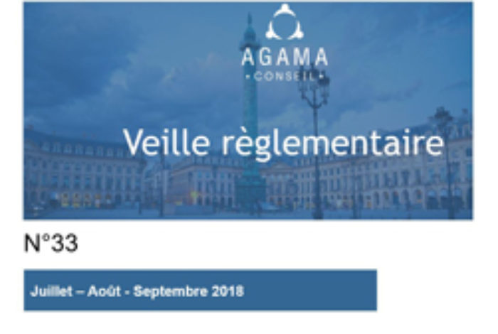 Regulatory News AGAMA N°33