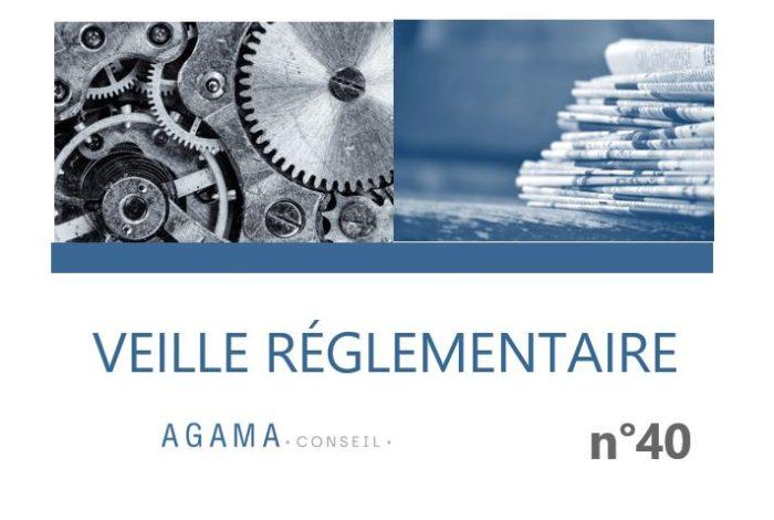 Regulatory News AGAMA N°40