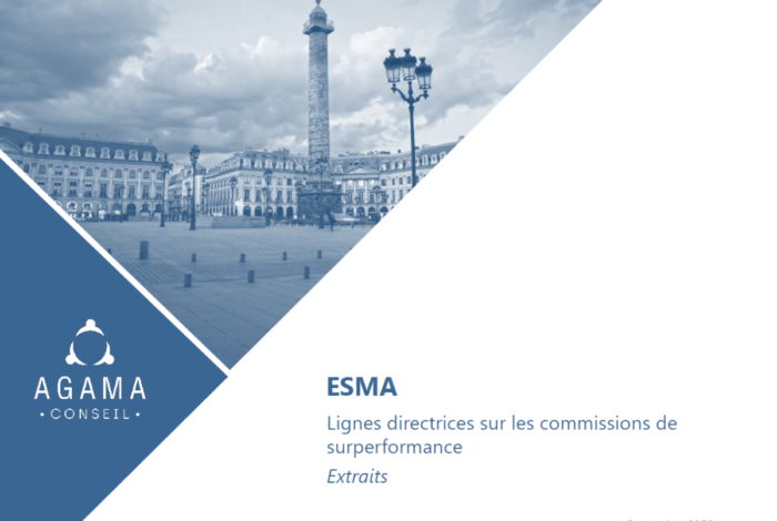 ESMA – Guidelines on outperformance fees