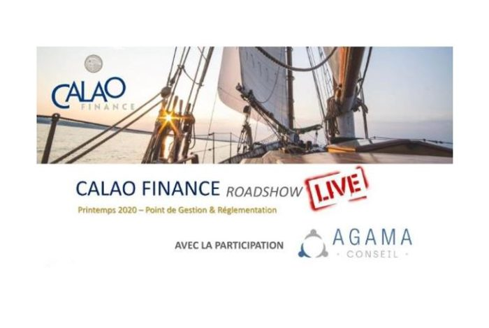 Roadshow campaign in videoconference with CALAO FINANCE