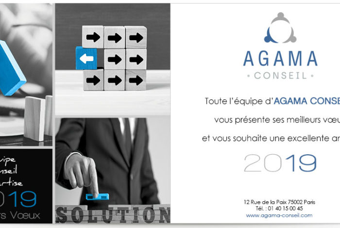 Greetings from AGAMA Conseil