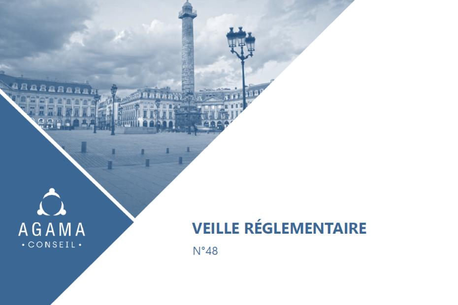 Bannière veille réglementaire Agama Group